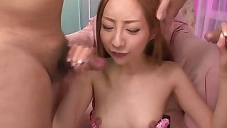 horny japanese mature milf sucking