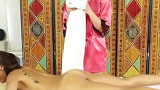 erotic hd lesbian massage oil ass blonde