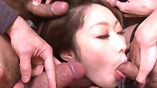 blowjob group-sex hardcore hot japanese milf sucking