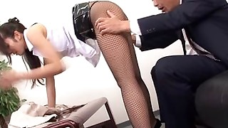 fuck hairy japanese milf office rimming