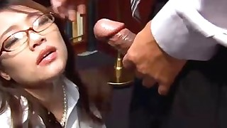 babe blowjob fuck hd hidden-cam japanese office secretary