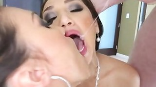 blowjob big-cock deepthroat hd oral pov sucking threesome