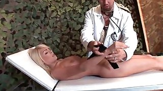 bdsm big-tits blonde chick deepthroat fetish juicy slave spanking
