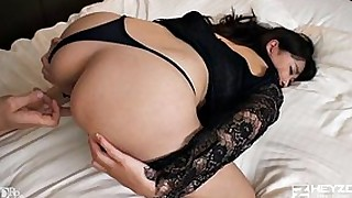 big-cock small-tits shaved little babe big-tits huge-cock blowjob fingering