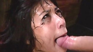bdsm blowjob deepthroat fuck hd oral slave