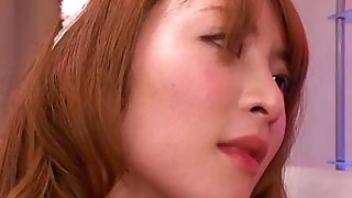 babe japanese licking pussy