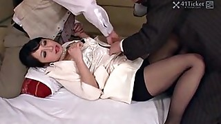 ass blowjob japanese threesome uncensored