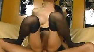 blowjob anal huge-cock kiss stocking hot high-heels hardcore cumshot