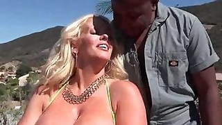 milf pornstar massage hardcore fuck ebony boobs black big-tits