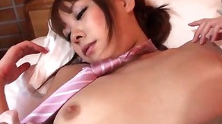 uncensored hairy doggy-style creampie brunette blowjob big-tits