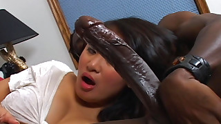 babe bedroom black blowjob big-cock facials hot huge-cock interracial