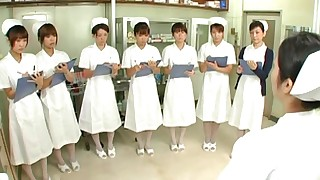 handjob japanese nurses party ride uniform