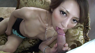 blowjob facials japanese lingerie small-tits little pornstar pov