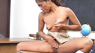 classroom fingering small-tits little masturbation natural schoolgirl skirt solo