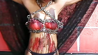 bdsm hardcore hd nipples outdoor slave