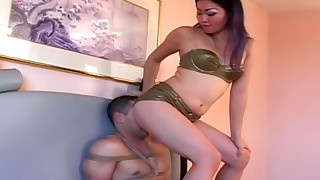 bdsm chick facials hd lingerie small-tits little mammy slave