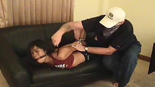 slave little small-tits latex hd brunette bdsm sweet