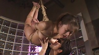 bdsm brunette creampie cumshot doggy-style hairy hardcore japanese small-tits