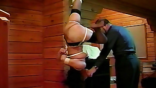 bdsm beauty hd small-tits little nylon slave stocking