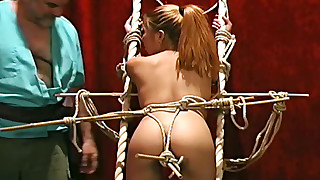 slender slave little small-tits bdsm