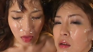 bukkake group-sex hairy small-tits cumshot vibrator facials japanese hot