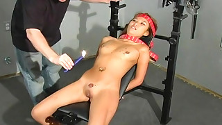 babe bdsm dildo fingering hot slave sweet tattoo