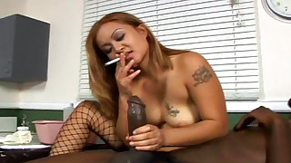 black blowjob big-cock fetish hd huge-cock interracial little mouthful