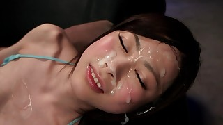 facials hairy japanese small-tits little slender stocking