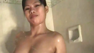 amateur babe hairy small-tits little nasty pussy shower thailand