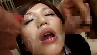 beauty blowjob bukkake cumshot facials gang-bang hairy hot japanese