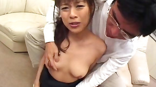 blowjob brunette cumshot hardcore hot japanese small-tits little model