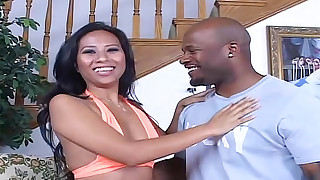 big-tits black blowjob big-cock cumshot hardcore high-heels hot huge-cock
