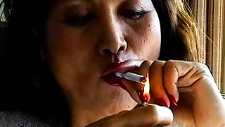 solo smoking fetish erotic