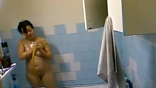 shower solo fuck wet amateur big-tits dildo bbw