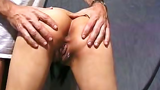 anal ass close-up masturbation playing pussy toys