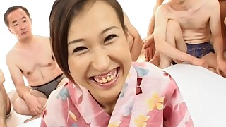 big-tits brunette bukkake big-cock cumshot facials foot-fetish group-sex japanese