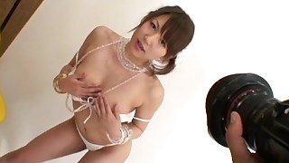 ass beauty chick japanese juicy lingerie small-tits little posing