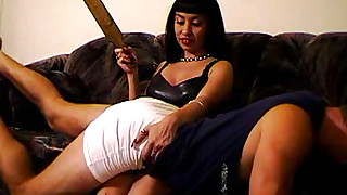 sweet spanking punished friends domination brunette boyfriend bdsm ass