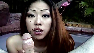 babe blowjob facials hd japanese small-tits little outdoor pool