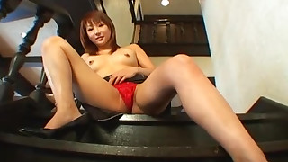 foot-fetish babe masturbation solo redhead pussy pornstar little small-tits