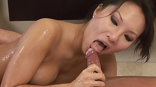 bathroom blowjob couple facials hd natural oil pornstar pussy