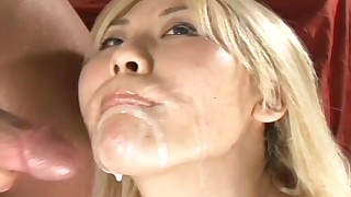 anal blonde blowjob close-up doggy-style facials fingering small-tits little