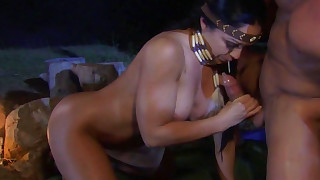 shaved ride pussy outdoor hot hardcore fuck dolly doggy-style