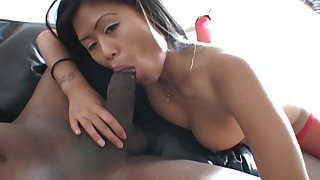 big-tits black blowjob chick big-cock facials interracial juicy natural