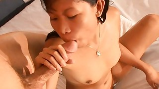 awesome big-tits blowjob big-cock couple cumshot doggy-style interracial small-tits